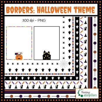 Borders: Halloween theme