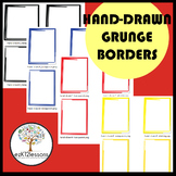 Borders: Hand-Drawn, Grunge--Pack #1