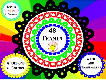 Artistic Frames- Decorate Your Products and Highlight Key Words
