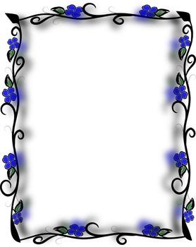 Borders IV - Blue