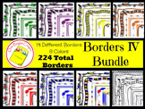 Borders and Frames IV Bundle -  Multi Colors
