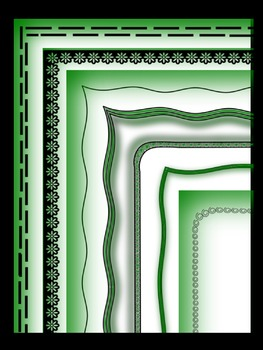 Borders IV - Green
