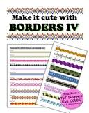 Borders IV - Make it cute!