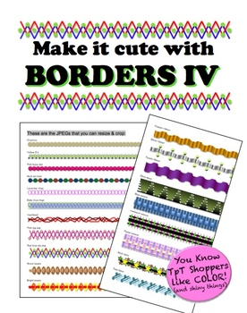 Borders IV - Make it cute!