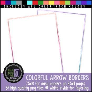 Borders: KG Colorful Arrow Borders