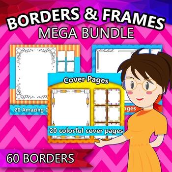 Borders Mega Bundle (60 Borders!)