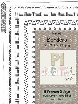 Borders - Pack 2