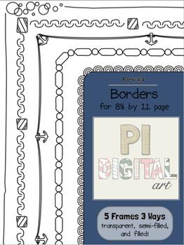 Borders - Pack 4