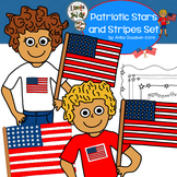 Borders Patriotic Stars and Stripes