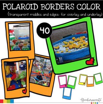 Borders Polaroid Color
