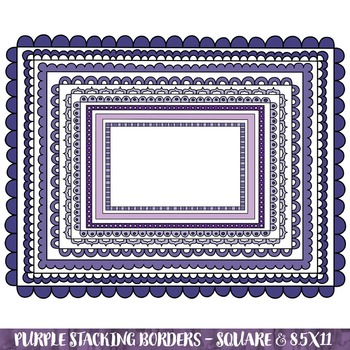Borders - Purple