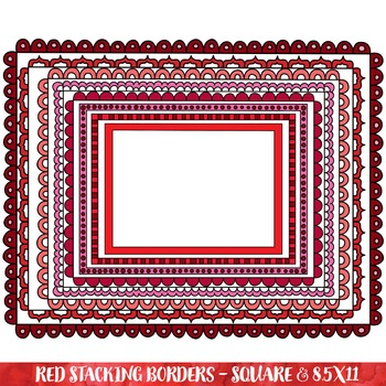 Borders - Red