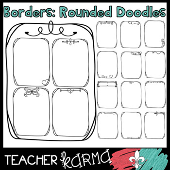Borders: Rounded Doodles