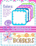 Borders:  Scalloped Frames