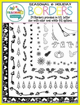 Borders - Seasonal & Holiday Themes