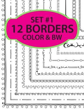 Borders Set #1