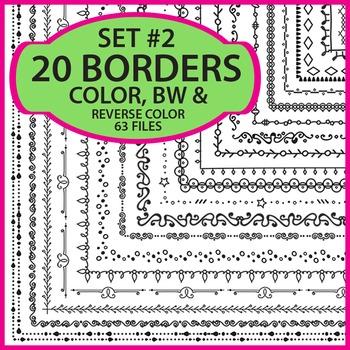 Borders / Frames Set 2