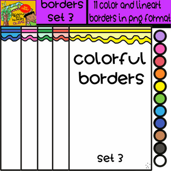 Borders - Set # 3