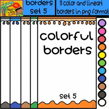 Borders - Set # 5