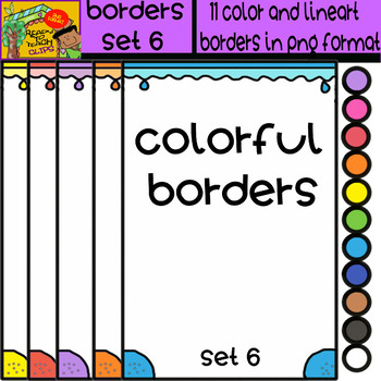 Borders - Set # 6