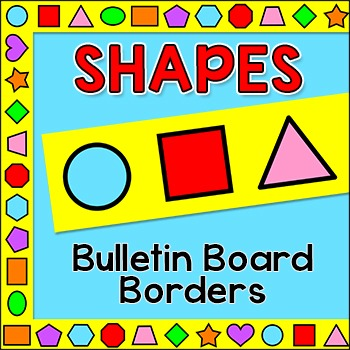 Shapes Bulletin Board Boarders