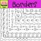 Borders : Spring Doodle Borders - SET 1