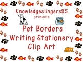 Borders, Stationery, Clip Art: Pets