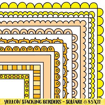 Borders - Yellow