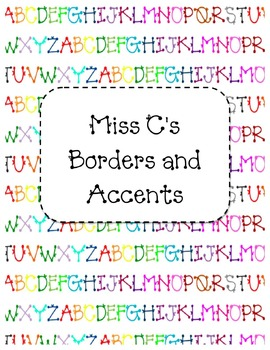 Borders and Accents