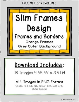 Borders and Backgrounds Dark Red and Orange Frames FREE DOWNLOAD