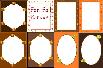 Borders and Backgrounds clip art