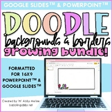 Borders and Backgrounds for Google Slides™ and PowerPoint™ 16x9 Slides