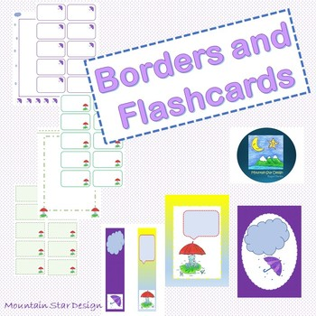 Borders and Flashcards