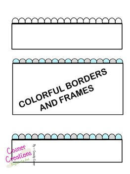 Borders and Frame BRIGHT!