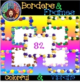 Borders and Frames - Bubbles: Colorful and Vibrant