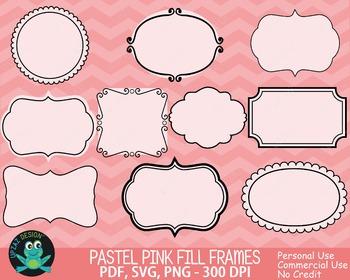 Doodle Frames {Upzaz Digital Clipart}