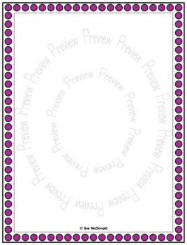 Borders and Frames Collection, Whimsy - High Quality Vector Graphics