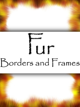 Borders and Frames, Fur - 20 Borders/Frames