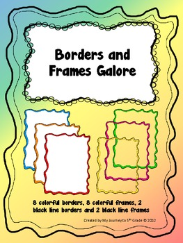 Borders and Frames Galore