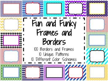 Borders and Frames Super Bundle