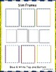 Borders and Frames Slim Frames Blue and White Top and Bottom Border (20 Images)