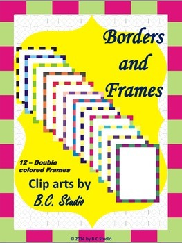 """Borders and Frames with """"Squared""""- by B.C.Studio"""