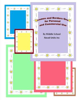 Borders and Frames for Personal or Commercial Use