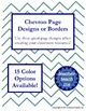 Borders and Page Designs Combo Pack