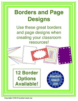 Borders and Page Designs