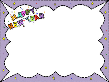 Borders for All Seasons  25 Borders in Png format