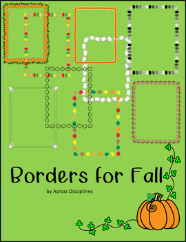 Borders for Fall