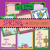 Borders for Spring Clip Art Download