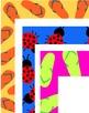 Borders for letterhead, newsletters, etc. - Group 3 - summer!