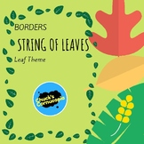 Borders and Frames - Leaves